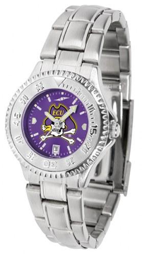 East Carolina Pirates Competitor Steel AnoChrome Women's Watch