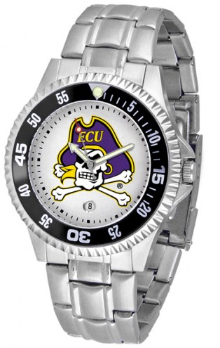 East Carolina Pirates Competitor Steel Men's Watch