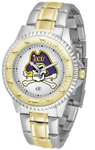 East Carolina Pirates Competitor Two-Tone Men's Watch