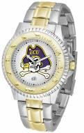 East Carolina Pirates Competitor Two-Tone Men's Watch