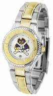 East Carolina Pirates Competitor Two-Tone Women's Watch