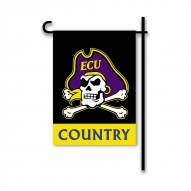 East Carolina Pirates Country Garden Flag