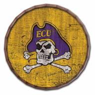 """East Carolina Pirates Cracked Color 16"""" Barrel Top"""