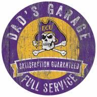 East Carolina Pirates Dad's Garage Sign