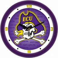 East Carolina Pirates Dimension Wall Clock