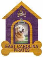 East Carolina Pirates Dog Bone House Clip Frame