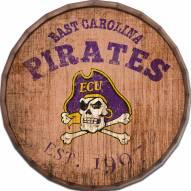 """East Carolina Pirates Established Date 16"""" Barrel Top"""