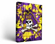 East Carolina Pirates Fight Song Canvas Wall Art