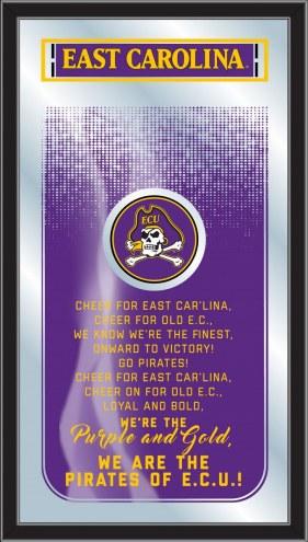 East Carolina Pirates Fight Song Mirror