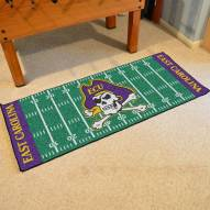 East Carolina Pirates Football Field Runner Rug