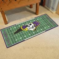 East Carolina Pirates Football Field Runner Rug