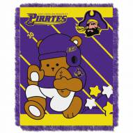 East Carolina Pirates Fullback Baby Blanket