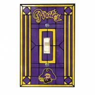 East Carolina Pirates Glass Single Light Switch Plate Cover