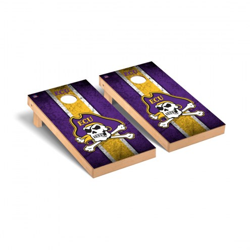 East Carolina Pirates Grunge Cornhole Game Set