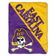 East Carolina Pirates Halftone Raschel Blanket