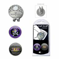 East Carolina Pirates Hat Clip & Marker Set