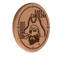 East Carolina Pirates Laser Engraved Wood Sign