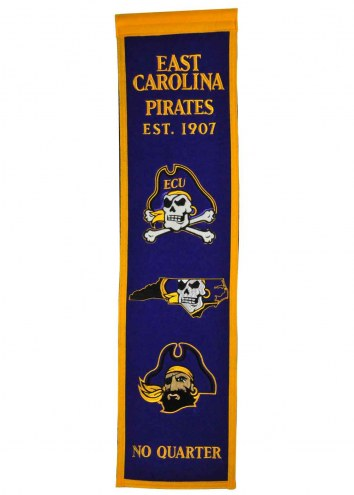 East Carolina Pirates Heritage Banner