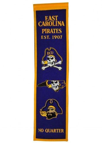 East Carolina Pirates Heritage Banner
