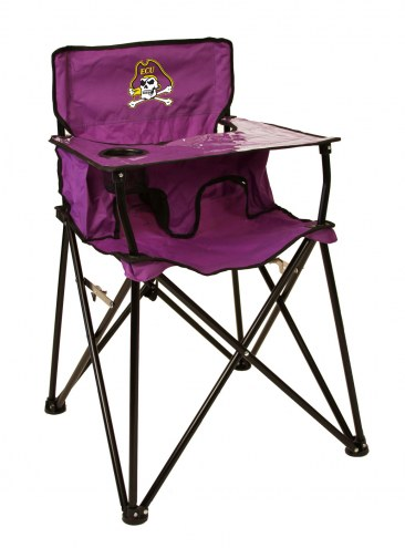East Carolina Pirates High Chair
