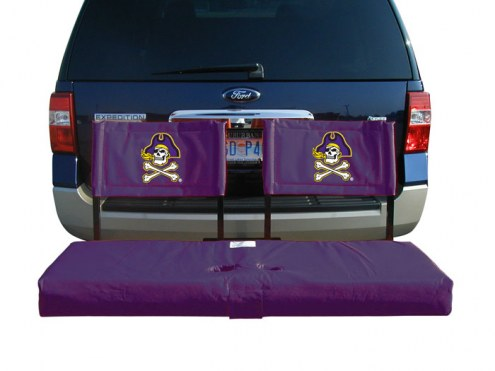 East Carolina Pirates Tailgate Hitch Seat/Cargo Carrier