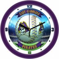 East Carolina Pirates Home Run Wall Clock