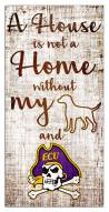 East Carolina Pirates House is Not a Home Sign