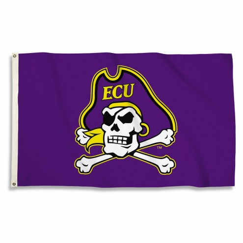 East Carolina Pirates Logo 3' x 5' Flag