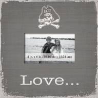 East Carolina Pirates Love Picture Frame