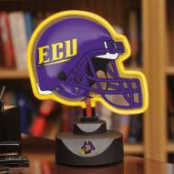 East Carolina Pirates Neon Helmet Desk Lamp