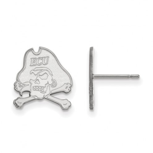 East Carolina Pirates Sterling Silver Small Post Earrings