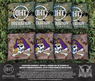 East Carolina Pirates Operation Hat Trick Cornhole Bag Set