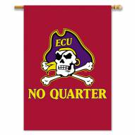 "East Carolina Pirates NCAA Premium 28"" x 40"" Two-Sided Banner"