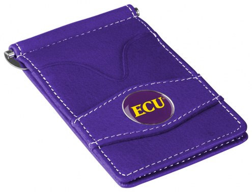 East Carolina Pirates Purple Player's Wallet