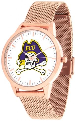 East Carolina Pirates Rose Mesh Statement Watch