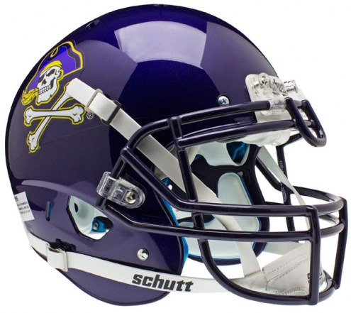 East Carolina Pirates Schutt XP Authentic Full Size Football Helmet