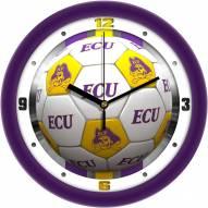 East Carolina Pirates Soccer Wall Clock