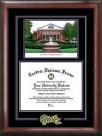 East Carolina Pirates Spirit Diploma Frame with Campus Image