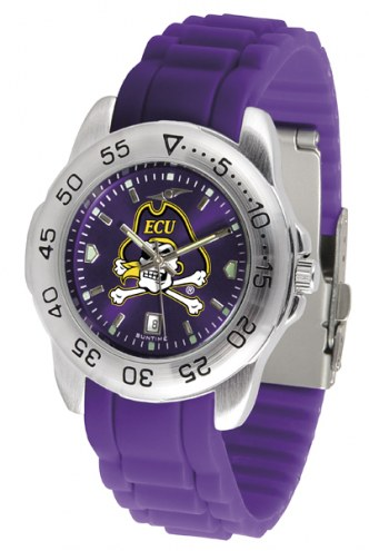 East Carolina Pirates Sport Silicone Men's Watch