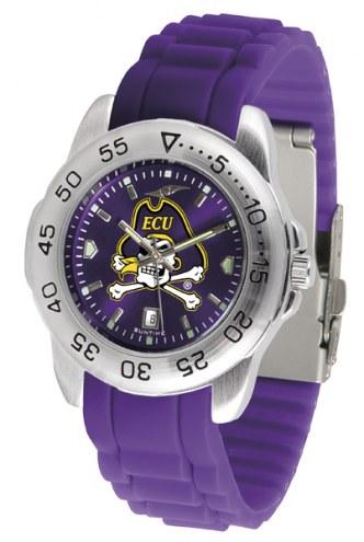 East Carolina Pirates Sport Silicone Men's Watch