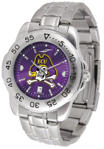 East Carolina Pirates Sport Steel AnoChrome Men's Watch
