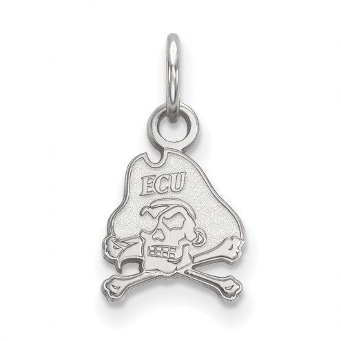 East Carolina Pirates Sterling Silver Extra Small Pendant