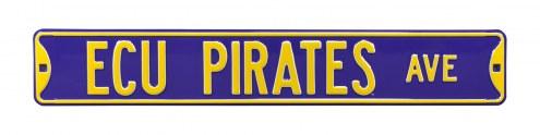 East Carolina Pirates Street Sign