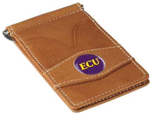 East Carolina Pirates Tan Player's Wallet