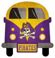 East Carolina Pirates Team Bus Sign