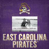 "East Carolina Pirates Team Name 10"" x 10"" Picture Frame"