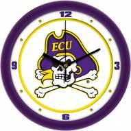 East Carolina Pirates Traditional Wall Clock