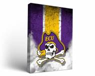 East Carolina Pirates Vintage Canvas Wall Art