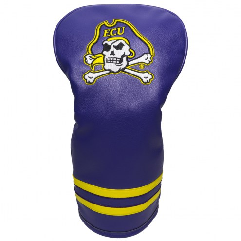 East Carolina Pirates Vintage Golf Driver Headcover