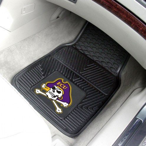 East Carolina Pirates Vinyl 2-Piece Car Floor Mats